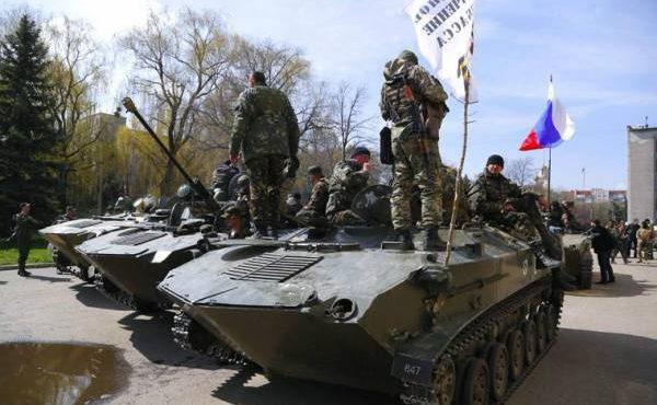 На сторону Донбасса переходят тысячи украинских военных