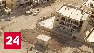 Как убежать из Алеппо от боевиков. Эксклюзивный репортаж Евгения Поддубного. Видео
