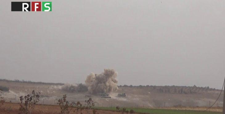 Опубликовано видео авиаударов ВВС Сирии с применением самолетов и вертолетов