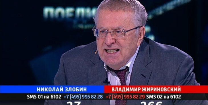 Поединок. Жириновский VS Злобин от 17.11.16 Видео