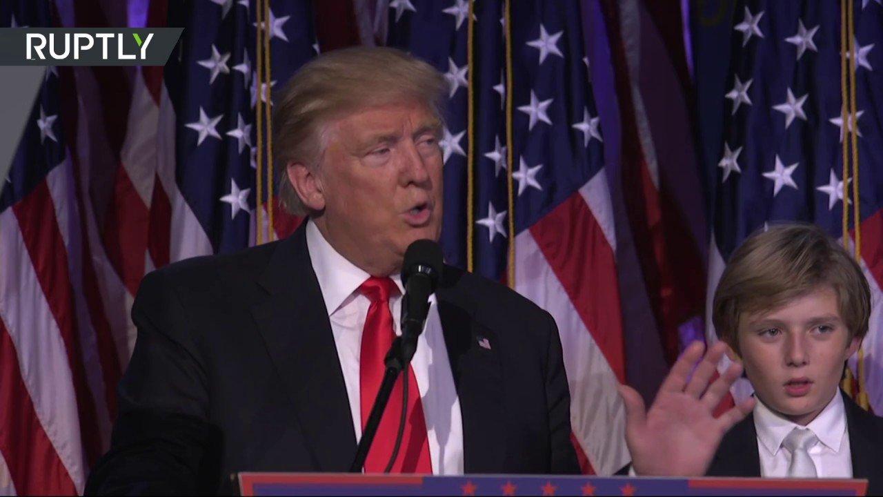 Трамп ликует. Хиллари позвонила и признала поражение на выборах президента США