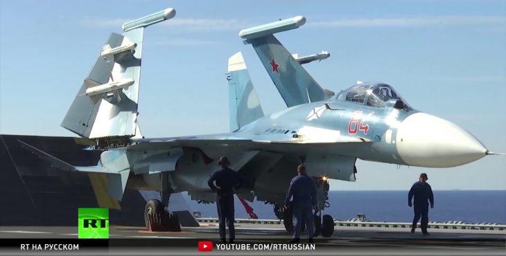 В гостях у «Адмирала»: корреспондент RT побывал на борту российского крейсера