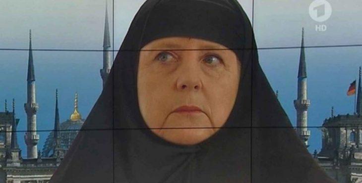 Ангела Меркель берёт в руки железную метлу