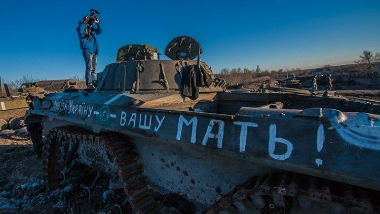 Раскол в ВСУ: трусливые грузинские «головорезы» сбежали из-под Дебальцево, бросив технику