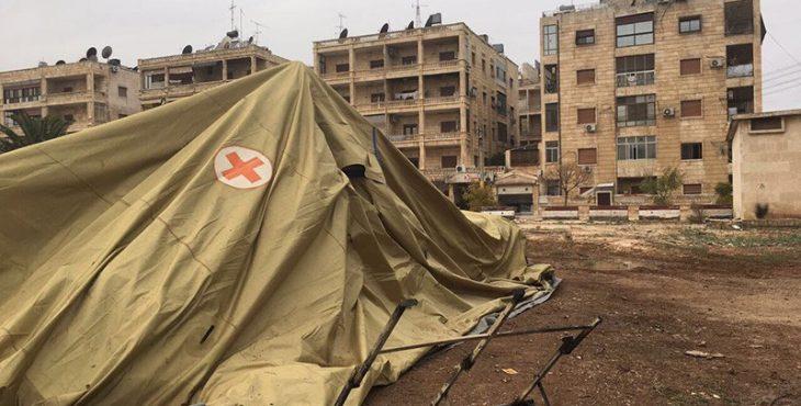 Минобороны России прокомментировало реакцию Красного Креста на гибель российских врачей в Алеппо от рук умеренной оппозиции