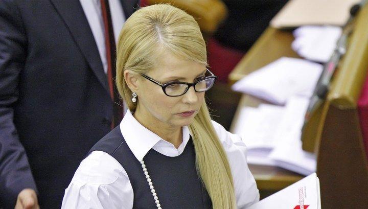 Тимошенко: явно, что идет зачистка банковской системы
