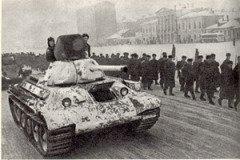 Контрнаступление советских войск против фашистских захватчиков под Москвой в 1941 году