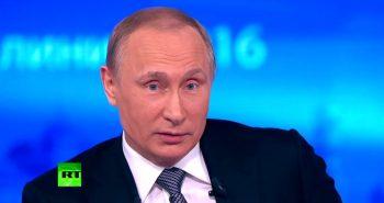 От первого лица: итоги года в цитатах Владимира Путина. Видео.