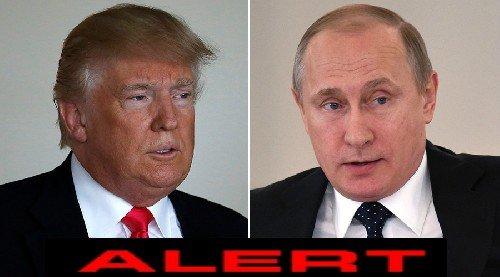 Картинки по запросу Трамп отправляет экстренное сообщение Путину:
