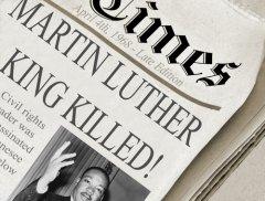 """Мартин Лютер Кинг убит!"" (Фото: JustASC, Shutterstock)"