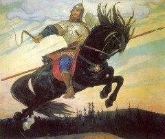 Былинный богатырь Илья Муромец