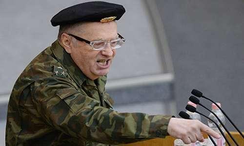 Жириновский пригрозил Украине после того, как «сдвинет» Путина. Видео.
