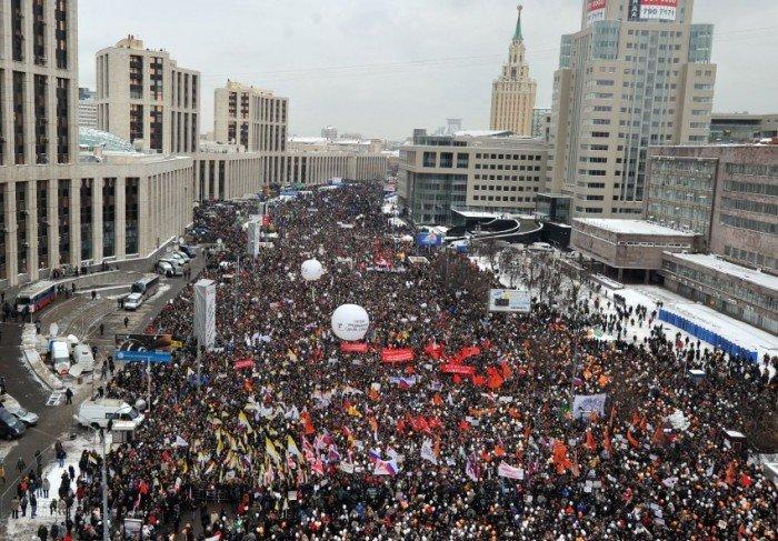 Митинги неэффективными считает большинство граждан России