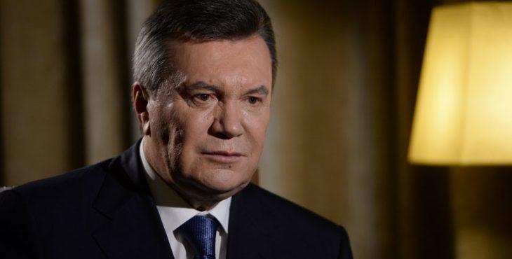 «Киев разделил страну на победителей и побеждённых»: Янукович о ситуации на Украине