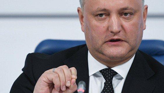 Додон сказал, как закрыл Молдавию для НАТО