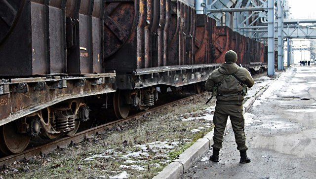 ВДНР начали торговую блокаду столицы Украины