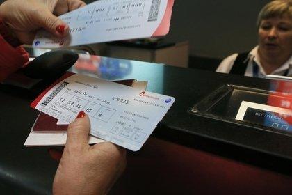 В августе аэропорты России запускают электронные посадочные талоны