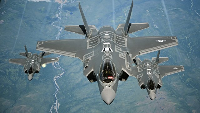 Американские истребители F-35 перебросили вЭстонию