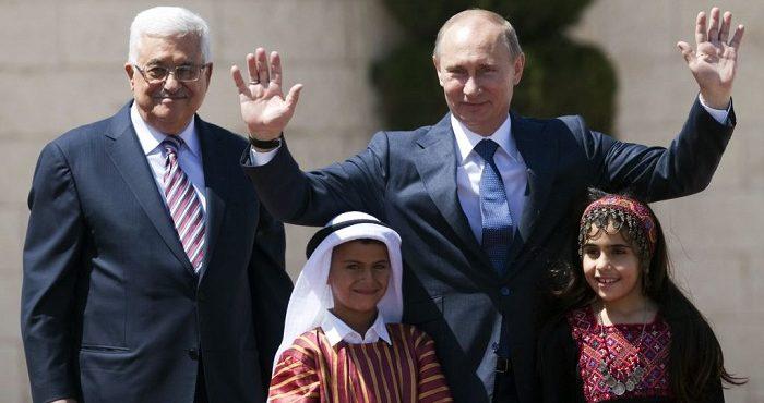 Владимир Путин находит решение палестино-израильского конфликта