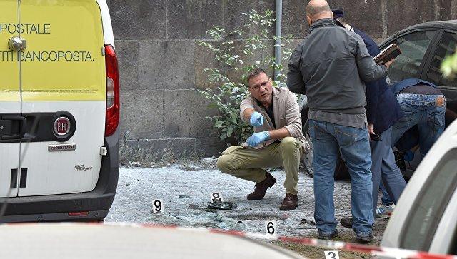 В центре Рима прогремел взрыв. Хроника с места событий, видео трансляция онлайн, новости расследования.