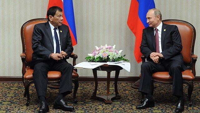 Президент Филиппин поведал олицемерии США и правдивости Российской Федерации иКитая