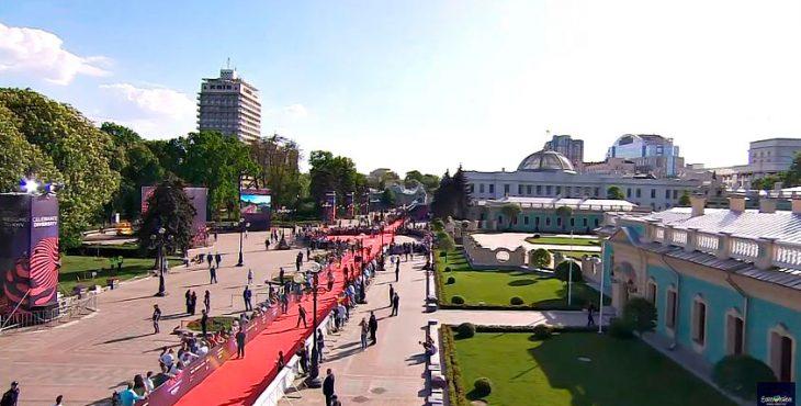 Открытие «Евровидения-2017» в Киеве проходит при полном отсутствии зрителей