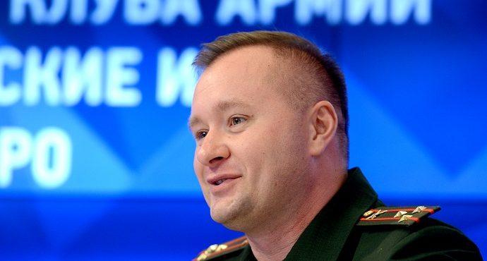Михаил Николаевич Барышев, ЦСКА и юнармейцы в День Победы
