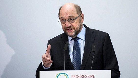 Ответом политике Трампа должно стать сплочение Европы— Шульц