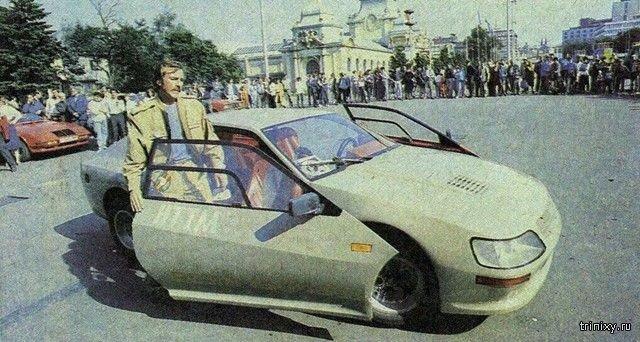 Необычный самодельный автомобиль «Вега-1600GT» из 1980-х
