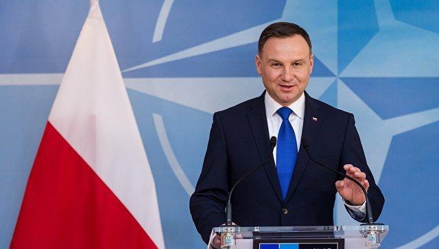 Войска НАТО останутся наместе,— Анджей Дуда