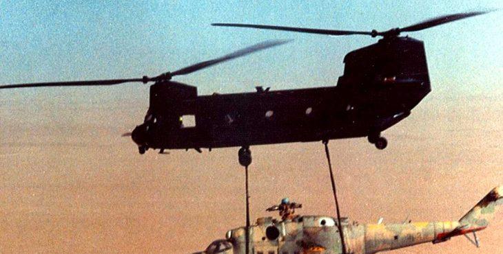 Однажды в Чаде: как американцы украли советский ударный вертолёт