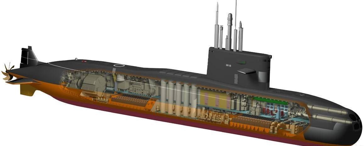 Дизельные подводные лодки россии