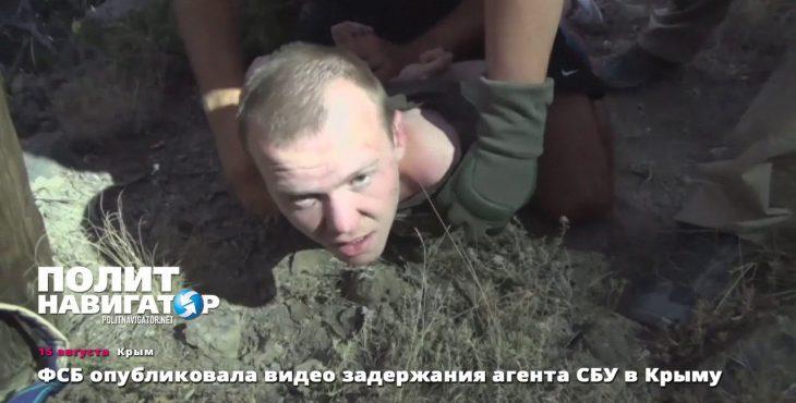 Украинский диверсант в Крыму дал признание на видеокамеру