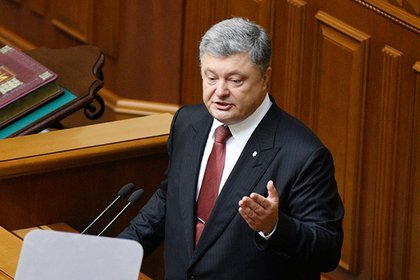 Порошенко: Нам нужно сделать Крым неподъёмным бременем для РФ