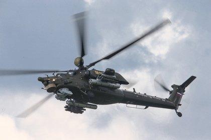«Вертолеты России» поставили наэкспорт первые Ми-28НЭ сбортовым комплексом обороны