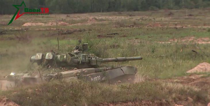 Российский реактивный танк показали на видео