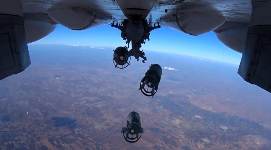 Минобороны опубликовало видео боевого вылета энгельсских бомбардировщиков вСирию