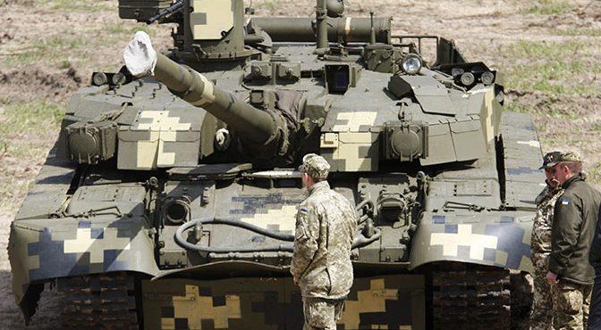 Безумие украинского ОПК: как в Незалежной создали «новейший клоунский танк» из металлолома