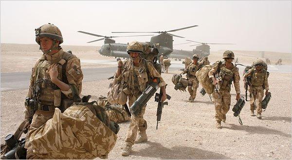 Афганистан превращается в базу НАТО для атак на СНГ