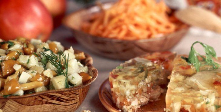 Русская кухня в описании иностранцев
