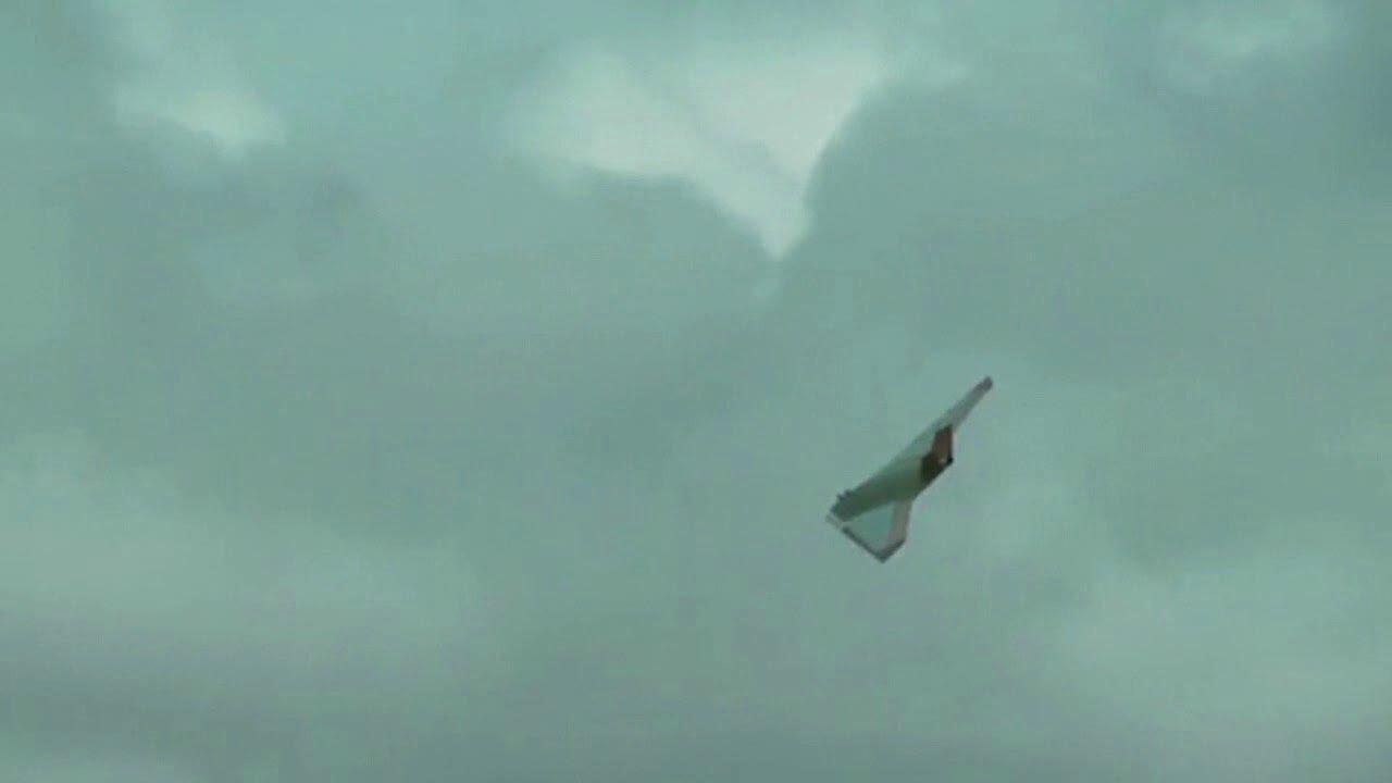 В США сняли таинственный летательный аппарат