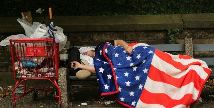 Американцы стыдятся своего голода