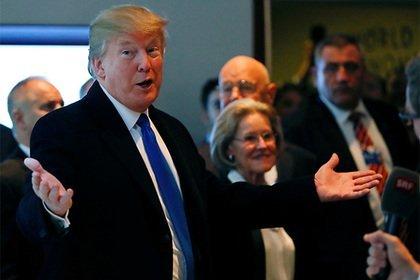 Дональд Трамп ждет  укрепления курса доллара