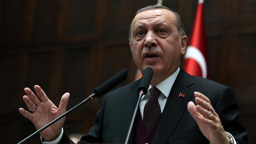 Эрдоган готов продолжить операцию «Щит Ефрата»