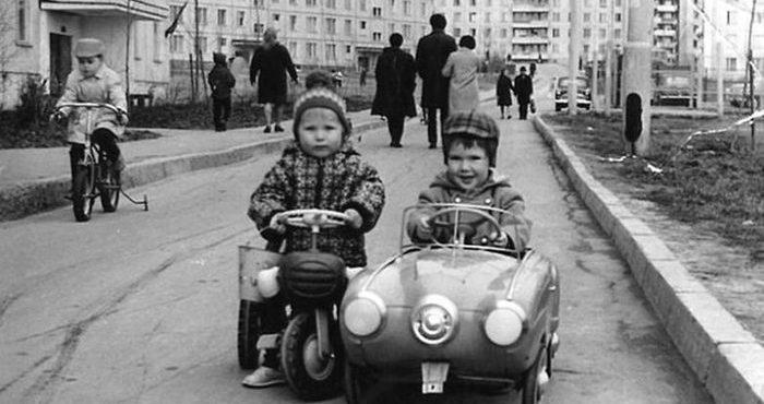 Беззаботное советское детство — фото из СССР