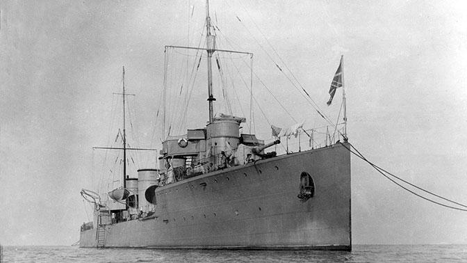На дне Финского залива нашли легендарный эсминец «Новик»