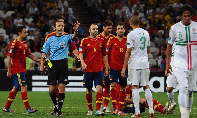 Футбол. Португалия — Испания. Счет, обзор матча от 15.06.2018, видео голов, результаты