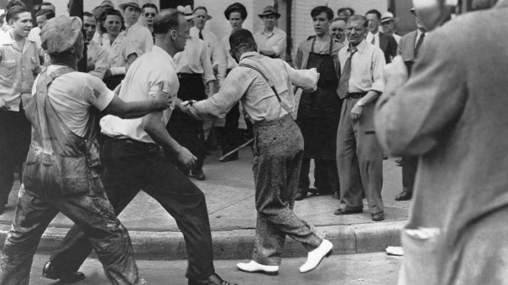 Одно из самых массовых расовых столкновений в США
