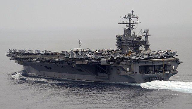 Авианосная ударная группа США возвратилась в Средиземное море