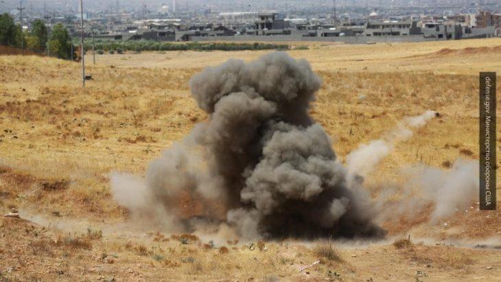 Коалиция США нанесла авиаудары по Сирии
